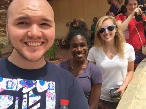 The A team: Myself, Katherine and Jordan!